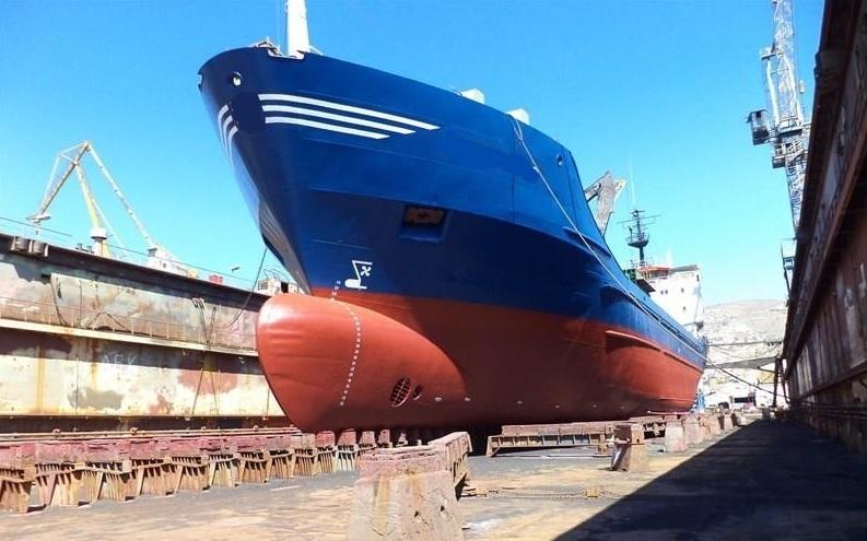 Self-unloader 3575-1978 dry-dock bow nej namn